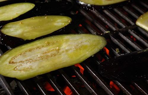 grilling eggplant 1