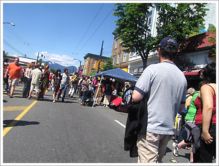 Car Free Commercial Drive 2008 car free