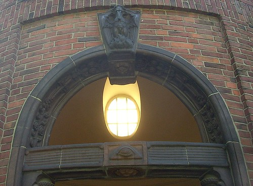 Urnenhalle Portal Detail