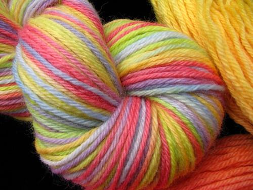 Rainbow - Peruvian Worsted