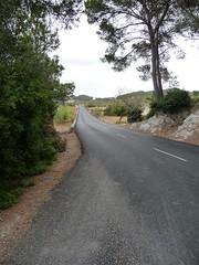 Majorca open road
