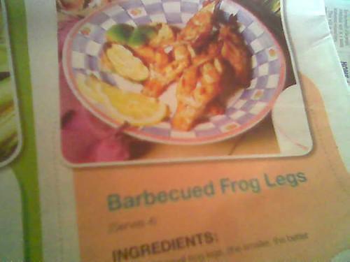 frogs' legs 1