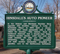 Hinsdale's auto pioneer