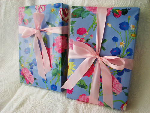 E & A Wrapped Birthday Gifts