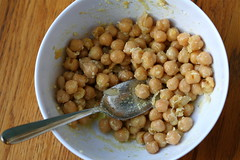 Brandon's chickpea salad