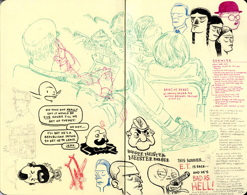 SKETCHBOOK SPREAD | Pages 58-59 by DHARBIN!.