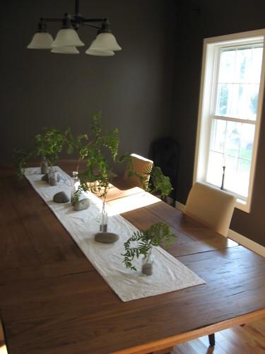 Dinning Room Table - centerpiece