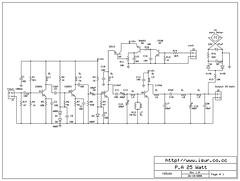 skema driver fm 25 Watt