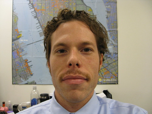 Movember 18, 2008 - Im starting to get used to this thing...
