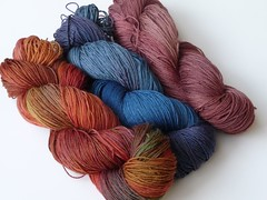 Dyeing results