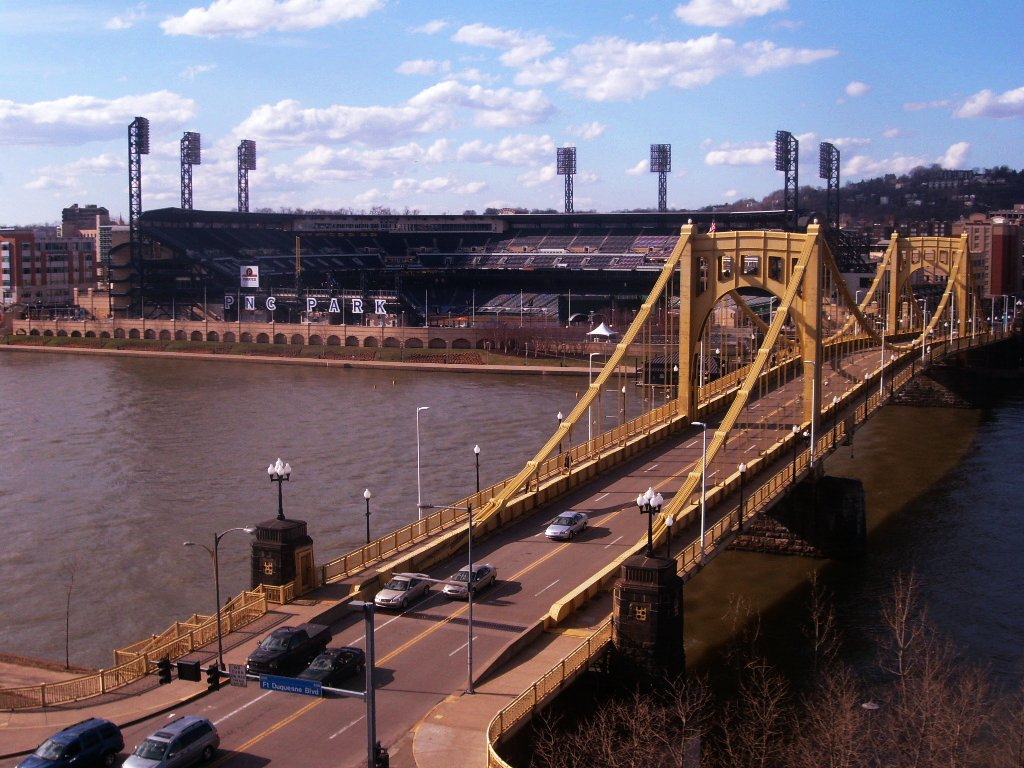 The view from the Rennaisance Hotel, Pittsburgh