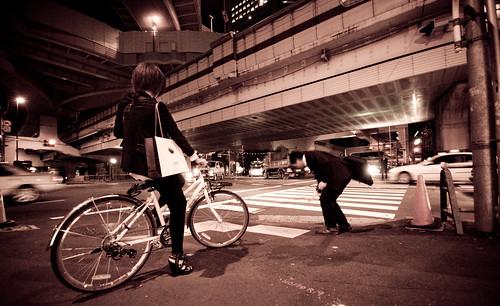 Bicycle under three highways