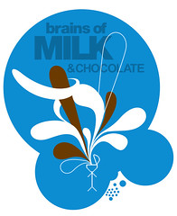 brains of milk and chocolate
