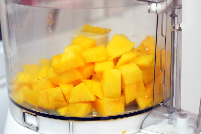 mango, ready for the chopper