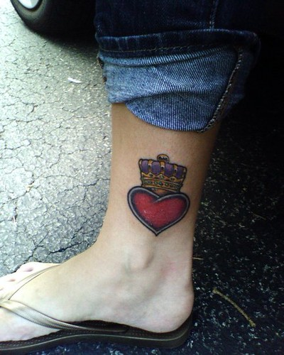 claddagh tattoo. crown