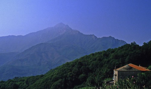 Mt. Athos from Provata