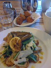 Brunch at the Ferry Building