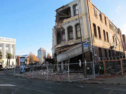 Christchurch city, heart of a dead zone