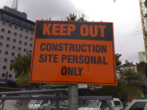 Construction Site Personal Only