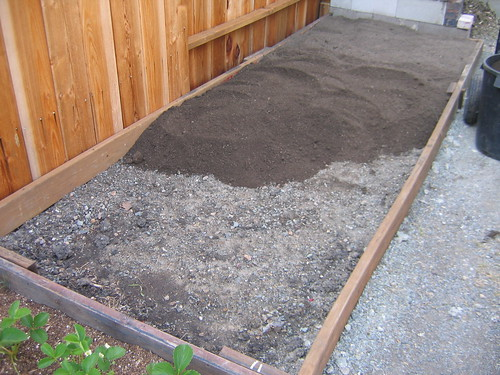 Add planting mix