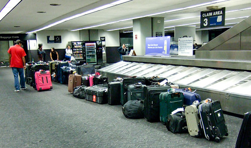 """""""Please report any unattended luggage."""""""