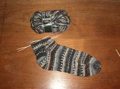 Fabel Zen Socks - Sock #1 Leg