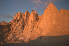 Needles, Mt. Whitney, mountaineer's route