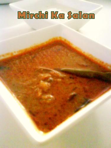 Mirchi Ka Salan-Hyderabadi Mirchi Ka Salan Recipe