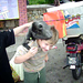 Monkey on Jareds head by sharepointjoel