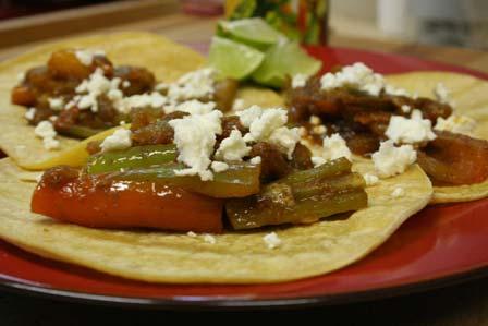 Saucy Pepper Tacos