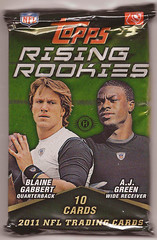 2011 Topps Rising Rookies pack