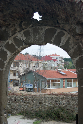 Riva Castle, Riva Village, Blacksea region of Istanbul, Pentax K10D