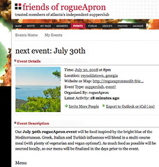 friends of rogueApron site launches