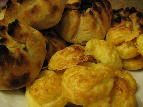 galettes and gougeres