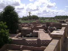 Roof view of Djenne.