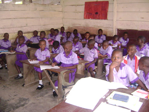Terrypauls class in Limbe, Cameroon.