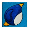 big fat penguin of determination - painting