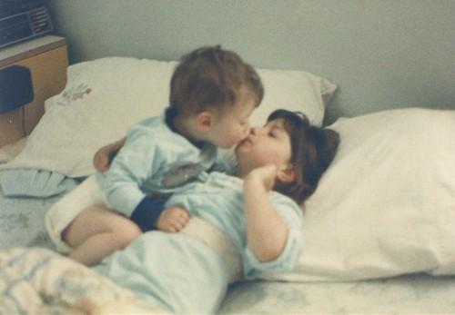 Clint kiss Jen