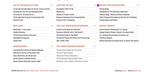 Turkey Sandwich Report on Alltop