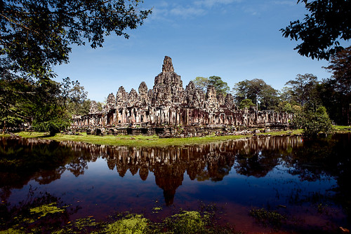 2 minutes touchup on Bayon Temple