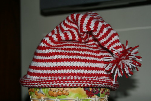 Candy Cane Hat for Matty
