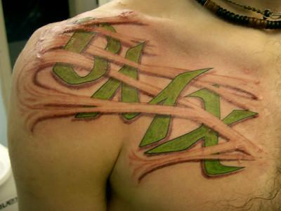 Tatuagem BMX Tattoo