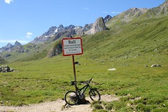 An der Schweizer Grenze