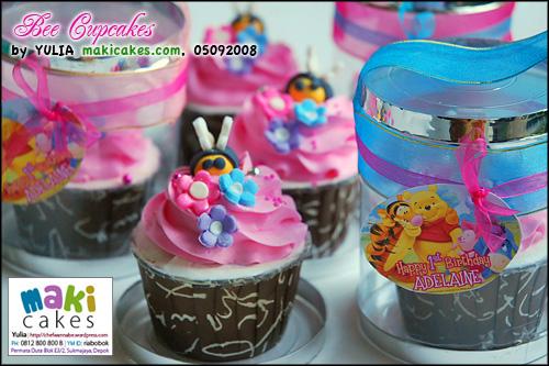 Bee Cupcakes_ - Maki Cakes