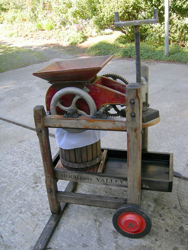 Family cider press