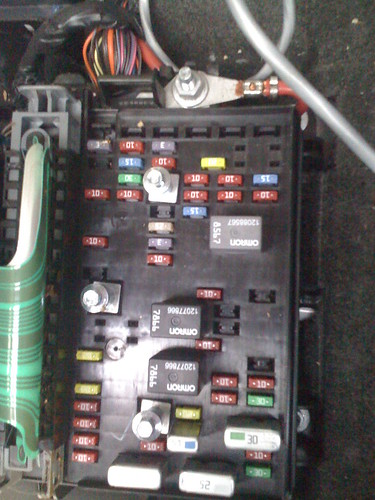 2005 Trailblazer Fuse Box