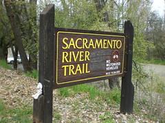 Sacramento River Trail - Trailhead