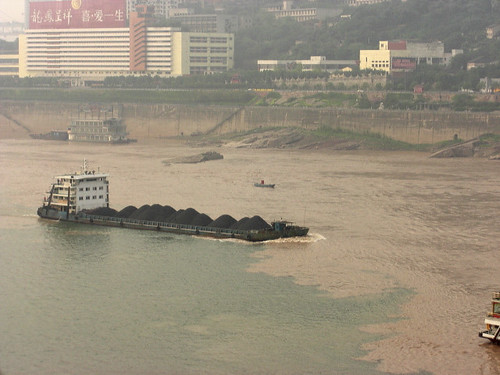 Yangtze barge