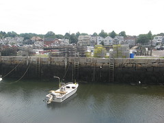 Lobster Traps Above the Harbor