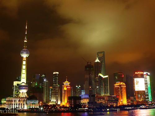[shanghai]看了八百次的外灘夜晚